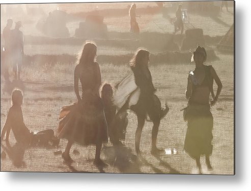Artistic Metal Print featuring the photograph Free Spirit by Vlad Gayraud