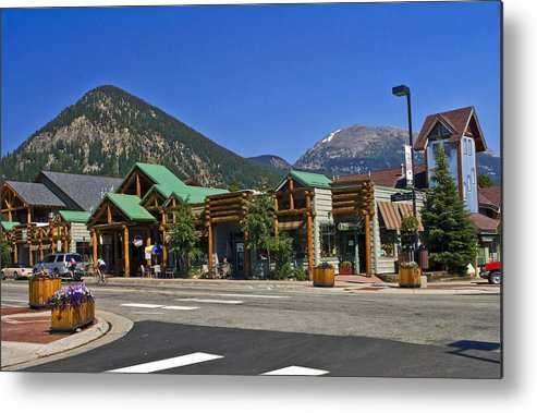 Main Street Metal Print featuring the photograph Frisco Colorado by Sally Weigand