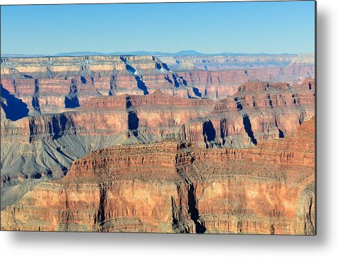 Grand Metal Print featuring the photograph Grand Canyon Vista by Tom Dowd