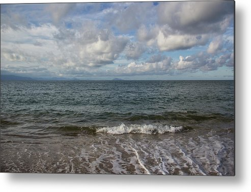 Sea Metal Print featuring the photograph In The Sea by James Conway