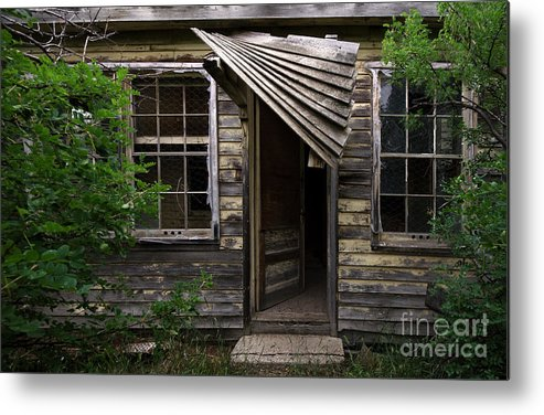 Building Metal Print featuring the photograph Lost Dreams 4 by Bob Christopher