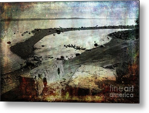 Ocean Metal Print featuring the photograph Mother Nature Rules by Randi Grace Nilsberg