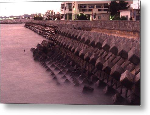 Okinawa Metal Print featuring the photograph Okinawa Waves by Curtis J Neeley Jr