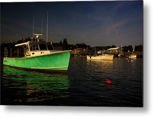 Acadia National Park Metal Print featuring the photograph On The Waterfront V by Kathi Isserman
