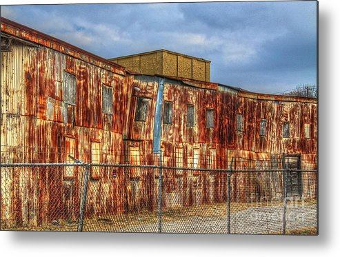 Old Metal Print featuring the photograph Paint Me by Robert Pearson