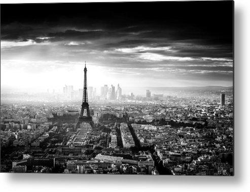 Paris Metal Print featuring the photograph Paris by Jaco Marx