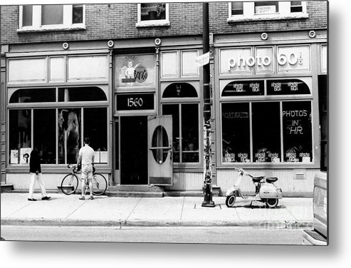Street Scene Metal Print featuring the photograph Transportation I by Lai S Smith
