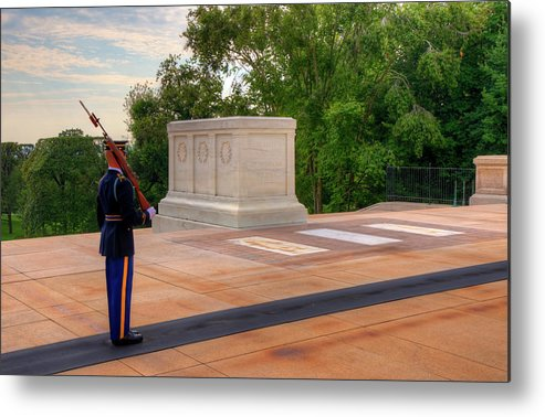 Craig Fildes Photography Metal Print featuring the photograph Tomb Of The Unknown Soldier by Craig Fildes