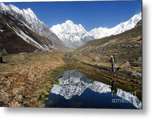 Annapurna Metal Print featuring the photograph Annapurna Sanctuary by Colin Woods