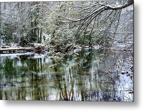 Williams River Metal Print featuring the photograph Winter Along Williams River by Thomas R Fletcher