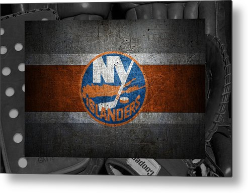 Islanders Metal Print featuring the photograph New York Islanders by Joe Hamilton