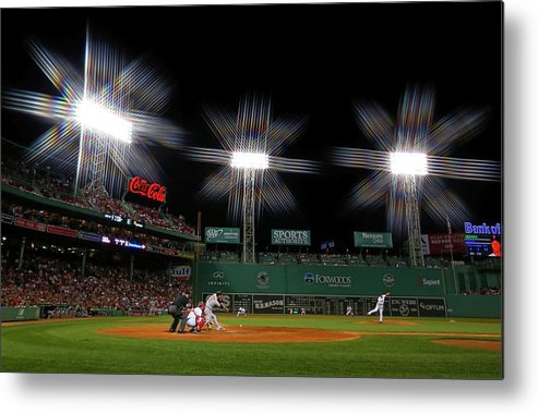 Ninth Inning Metal Print featuring the photograph Baltimore Orioles V Boston Red Sox 2 by Winslow Townson