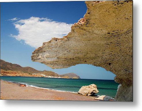 Almeria Metal Print featuring the photograph Untitled by Mikel Bilbao