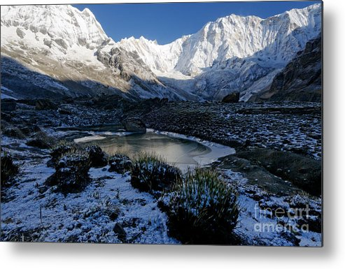 Annapurna Metal Print featuring the photograph Annapurna Morning by Colin Woods