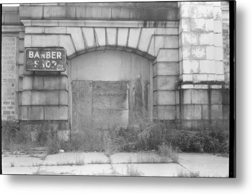 Urban Metal Print featuring the photograph Anyone Need A Hair Cut by Denis Therien