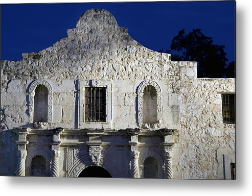 Alamo Metal Print featuring the photograph Famous Company by Bear E Smith