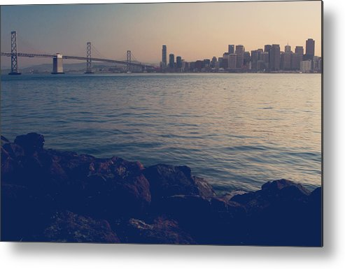 San Francisco Metal Print featuring the photograph Gently The Evening Comes by Laurie Search