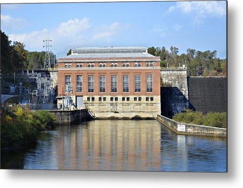 Metal Print featuring the photograph Hydroelectric Power by Susan Leggett