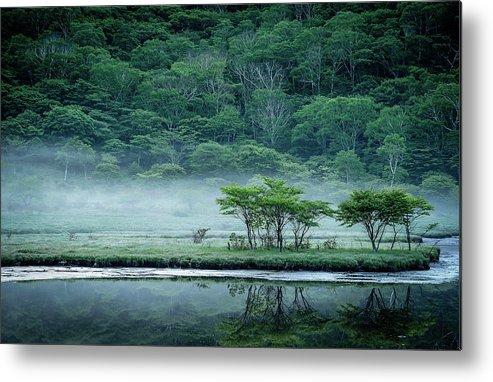 Japan Metal Print featuring the photograph Kakumanbuchi Marsh by Teruo Araya