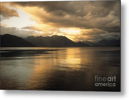 Lake Metal Print featuring the photograph Lake Todos Los Santos Chile by James Brunker