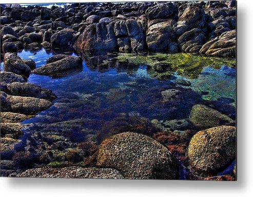 Ocean Metal Print featuring the photograph Monterey Pool by Joe Bledsoe