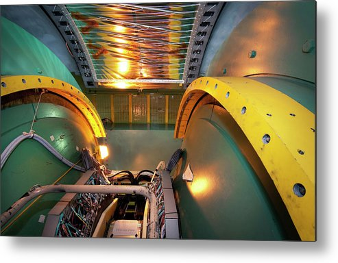 Phenix Metal Print featuring the photograph Phenix Detector At Rhic by Brookhaven National Laboratory