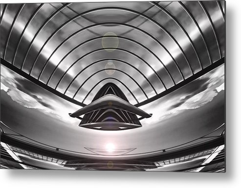 Art166.com Metal Print featuring the digital art Presence by Wendy J St Christopher