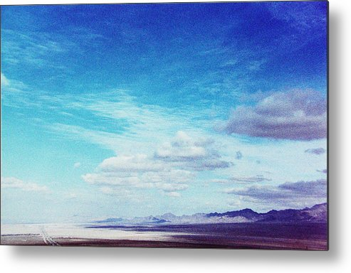 Landscape Metal Print featuring the photograph Road To Vegas by Ari Jacobs