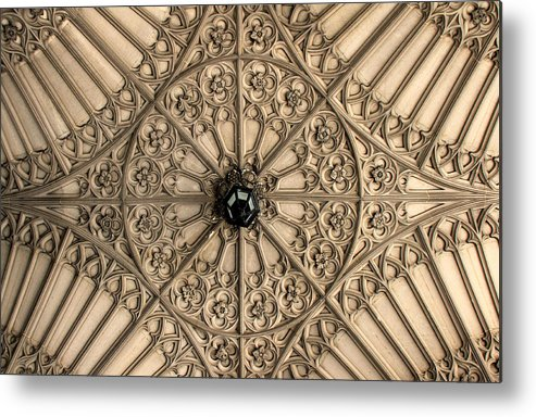 Toronto Metal Print featuring the photograph Sculptured Ceiling 1 by Andrew Fare