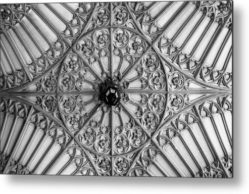 Toronto Metal Print featuring the photograph Sculptured Ceiling 1b by Andrew Fare
