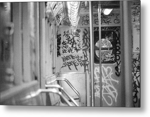 Nyc Subway Metal Print featuring the photograph Subway by Steven Macanka