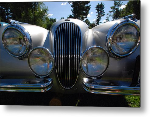 Automobiles Metal Print featuring the photograph T. H. E. Cat by John Schneider