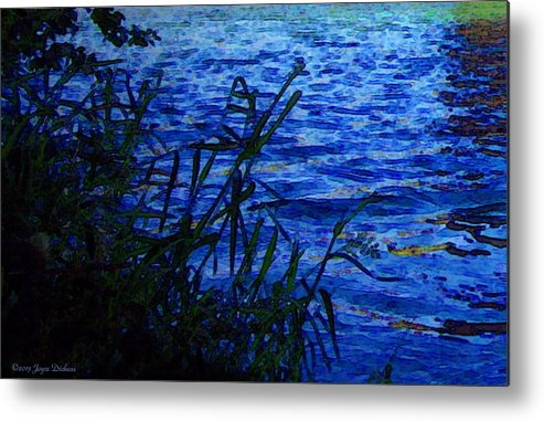River Metal Print featuring the photograph The River by Joyce Dickens
