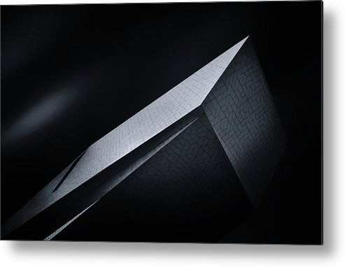 Architecture Metal Print featuring the photograph The Take Off by Jeroen Van De