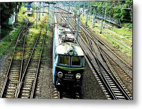 Train Metal Print featuring the photograph Train by AR Harrington Photography