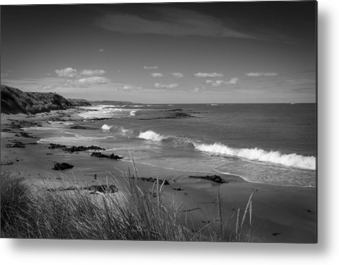 Waipapa Beach New Zealand Metal Print featuring the photograph Waipapa Beach New Zealand by Dean Ginther