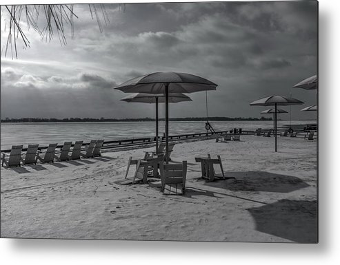 Sugar Beach Metal Print featuring the photograph Waiting For Summer by Nicky Jameson