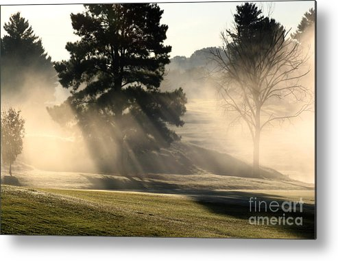 Metal Print featuring the photograph Whittle Springs Golf Course by Douglas Stucky
