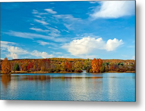 Pennsylvania Metal Print featuring the photograph Shawnee State Park by Steve Harrington