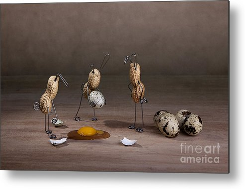 Easter Metal Print featuring the photograph Simple Things Easter 10 by Nailia Schwarz