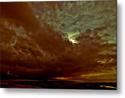 April Metal Print featuring the photograph Under April Skies by Tony Polain