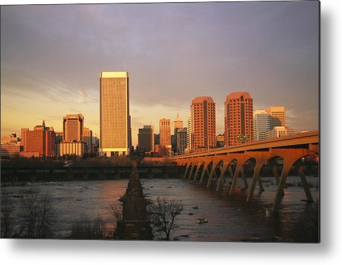 North America Metal Print featuring the photograph The Richmond, Virginia Skyline by Medford Taylor