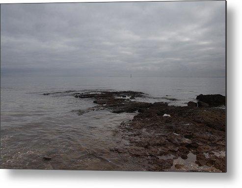Sea Metal Print featuring the photograph Brighton Beach by Masami Iida