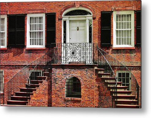 Davenport Metal Print featuring the photograph Davenport House by JAMART Photography