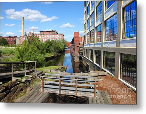 Lowell Metal Print featuring the photograph Lowell Massachusetts by Denis Tangney Jr