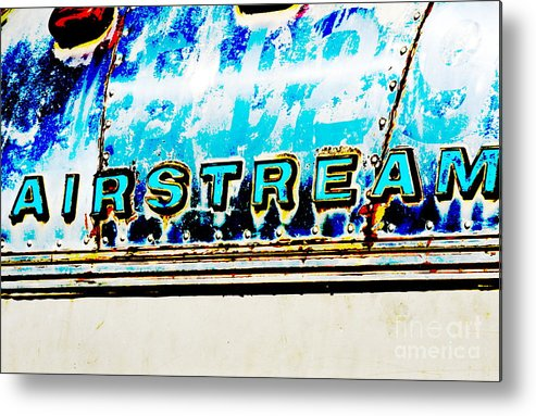 Metal Metal Print featuring the photograph Airstream by Newel Hunter