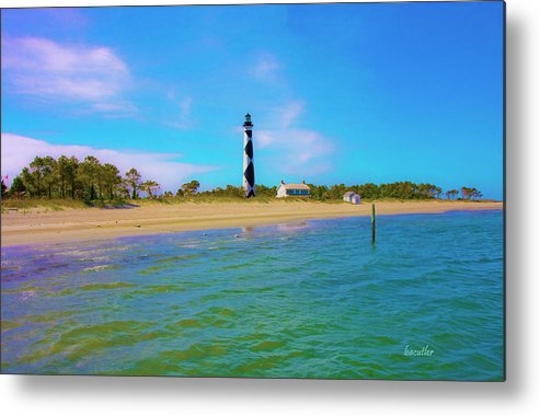 Harkers Island Metal Print featuring the photograph Cape Lookout 1 by Betsy Knapp