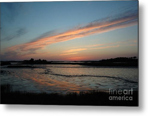 Sunset Metal Print featuring the photograph Cedar Key Sunset 2 by Kathi Shotwell