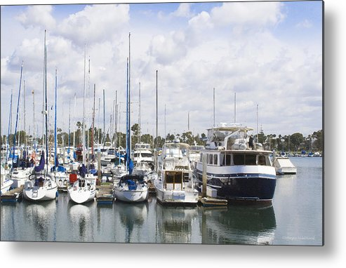 Coronado Metal Print featuring the photograph Coronado Boats II by Margie Wildblood