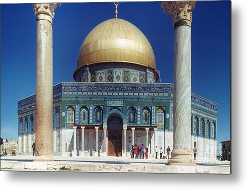 Building Metal Print featuring the photograph Dome Of The Rock by Granger